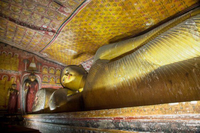 Reclining Buddha, Dambulla Caves, Sri Lanka